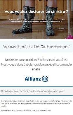 Promos de Banques et Assurances dans le dépliant à Allianz ( 12 jours de plus)