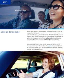 Promos de Banques et Assurances dans le dépliant à Baloise ( 12 jours de plus)