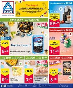 Promos de Supermarchés dans le dépliant à Aldi ( Expire demain)