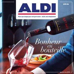 Promos de Aldi dans le dépliant à Bruxelles