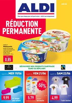 Promos de Supermarchés dans le dépliant de Aldi à Louvain