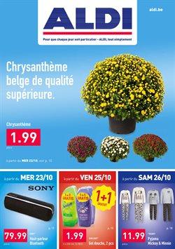 Promos de Supermarchés dans le dépliant de Aldi à Grimbergen