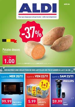 Promos de Supermarchés dans le dépliant de Aldi à Termonde