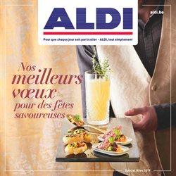 Promos de Aldi dans le dépliant à Louvain