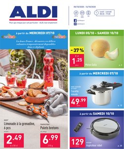 Promos de Supermarchés dans le prospectus de Aldi à Bruxelles ( Publié il y a 2 jours )