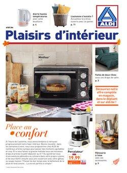 Promos de Supermarchés dans le prospectus de Aldi à Bruxelles ( Publié hier )