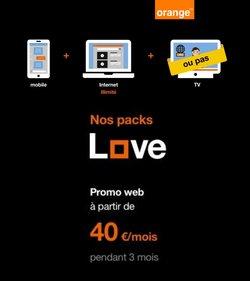Promos de Électronique dans le prospectus de Orange à Louvain ( 2 jours de plus )