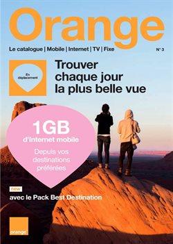 Promos de Electroménager et Multimédia dans le dépliant de Orange à Mons