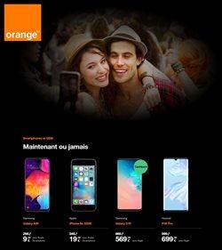 Promos de Électronique dans le dépliant de Orange à Overijse