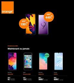 Promos de Électronique dans le dépliant de Orange à Bruxelles