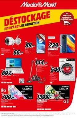 Promos de Électronique dans le dépliant à Media Markt ( 3 jours de plus)