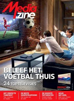 Promos de Electroménager et Multimédia dans le dépliant de Media Markt à Mons