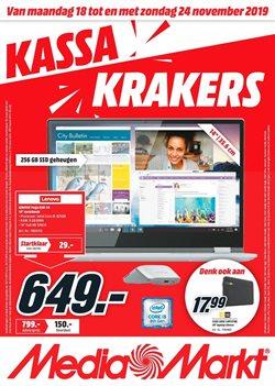 Promos de Media Markt dans le dépliant à Anvers