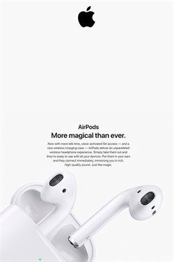 Promos de Apple dans le dépliant à Bruxelles