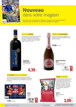 Promos de Supermarchés dans le dépliant de Colruyt à Liège