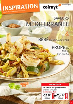 Promos de Supermarchés dans le dépliant de Colruyt à Dilbeek