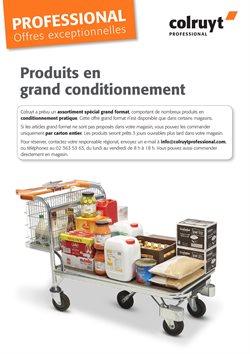 Promos de Supermarchés dans le dépliant de Colruyt à Termonde