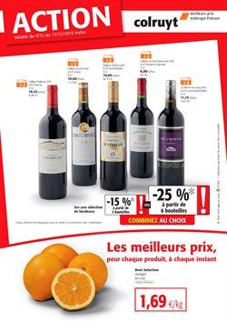 Promos de Supermarchés dans le dépliant de Colruyt à Tongres