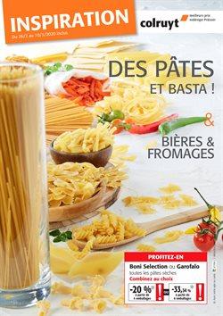 Promos de Supermarchés dans le prospectus de Colruyt à Liège ( Publié aujourd'hui )