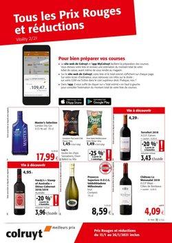Promos de Supermarchés dans le prospectus à Colruyt ( 4 jours de plus )