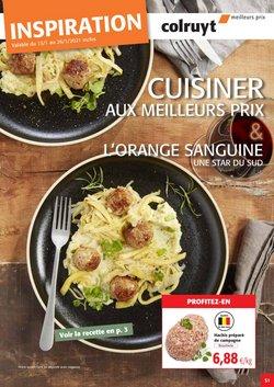Promos de Supermarchés dans le prospectus de Colruyt à Bruxelles ( 8 jours de plus )