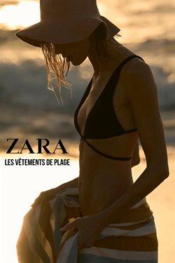 Promos de ZARA dans le dépliant à ZARA ( Plus d'un mois)
