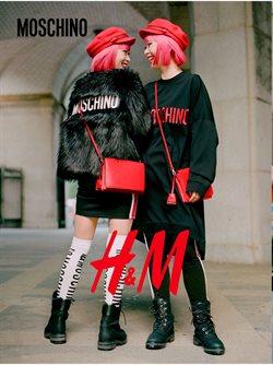 Promos de H&M dans le dépliant à Bruxelles