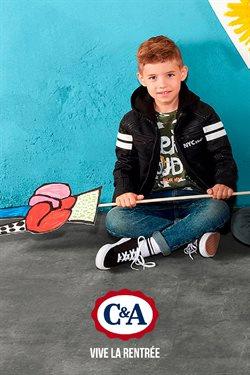 Promos de C&A dans le dépliant à Leeuw-Saint-Pierre