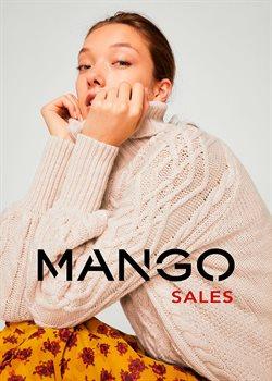 Promos de Mango dans le dépliant à Mons