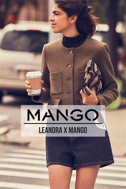 Promos de Mango dans le dépliant à Bruxelles