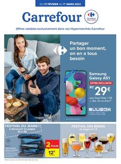 Promos de Noël dans le dépliant à Carrefour ( 17 jours de plus)