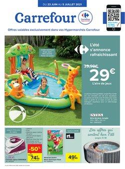 Promos de Supermarchés dans le dépliant à Carrefour ( 11 jours de plus)
