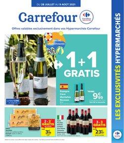 Promos de Carrefour dans le dépliant à Carrefour ( 4 jours de plus)