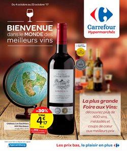 Promos de Carrefour dans le dépliant à Liège