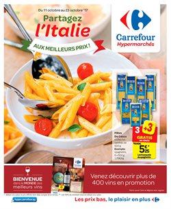 Promos de Carrefour dans le dépliant à Bruges