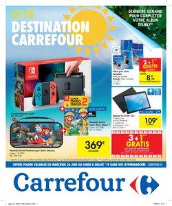 Promos de Carrefour dans le dépliant à Tournai