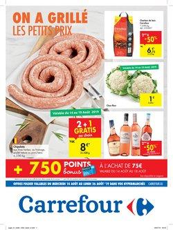 Promos de Carrefour dans le dépliant à Rumes