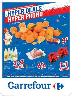 Promos de Supermarchés dans le dépliant de Carrefour à Saint-Trond