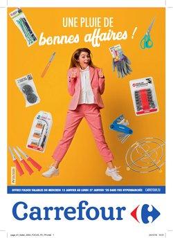 Promos de Supermarchés dans le dépliant de Carrefour à Louvain