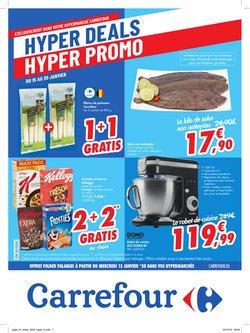 Promos de Carrefour dans le dépliant à Bruxelles