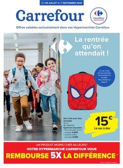 Carrefour coupon à Louvain ( Plus d'un mois )