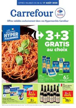 Promos de Supermarchés dans le prospectus de Carrefour à Louvain ( 10 jours de plus )