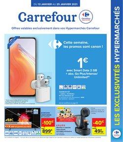 Promos de Supermarchés dans le prospectus de Carrefour à Bruxelles ( 7 jours de plus )