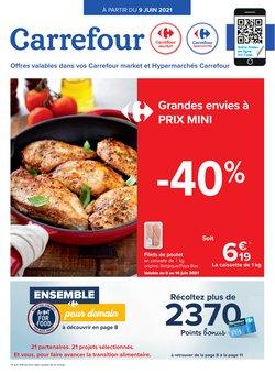 Promos de Carrefour Market dans le dépliant à Carrefour Market ( Expire aujourd'hui)