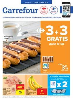 Promos de Supermarchés dans le dépliant à Carrefour Market ( Expire aujourd'hui)