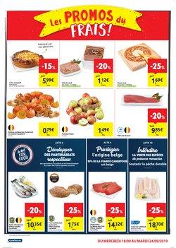 Promos de Carrefour Market dans le dépliant à Bruxelles