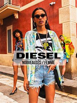 Promos de Diesel dans le dépliant à Liège
