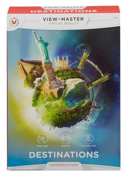 Pack View-Master destinations MATTEL offre à 8,97€