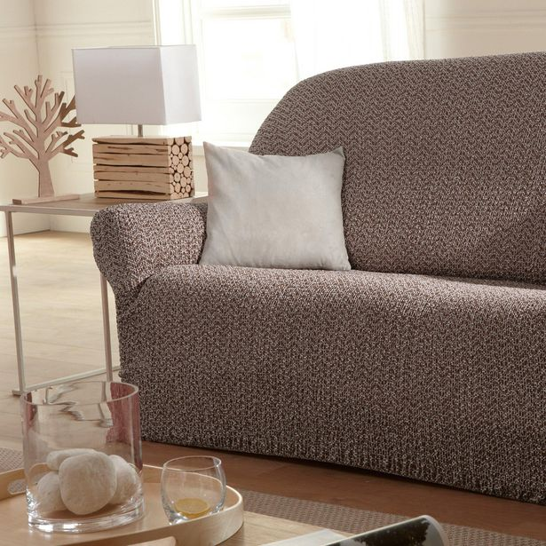 Housse de canapé Zigzag pour 2 places offre à 19,98€