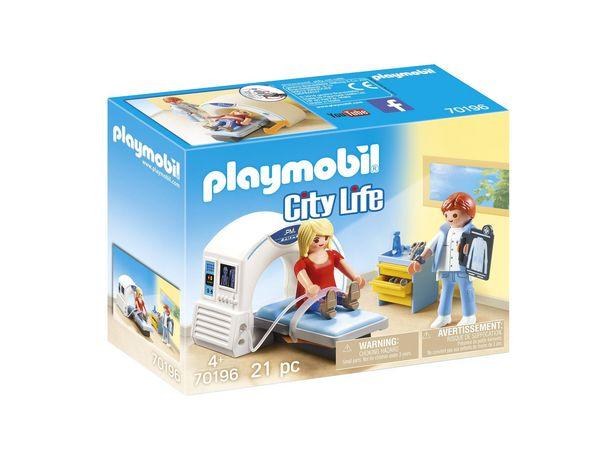 PLAYMOBIL® 70196 Salle de radiologie offre à 12,99€